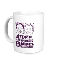 Керамическая кружка Attack of the Valentines Zombies