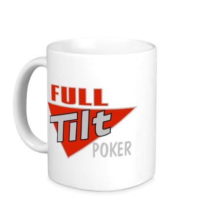 Керамическая кружка Full Tilt Poker