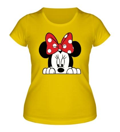 Женская футболка Минни Маус, для нее