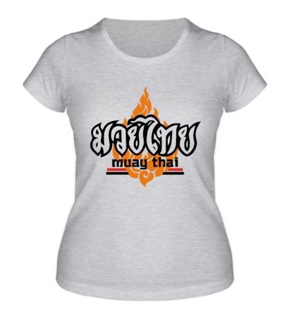 Женская футболка Muay Thai