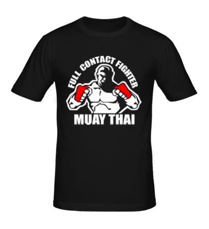 Мужская футболка Muay Thai Fighter