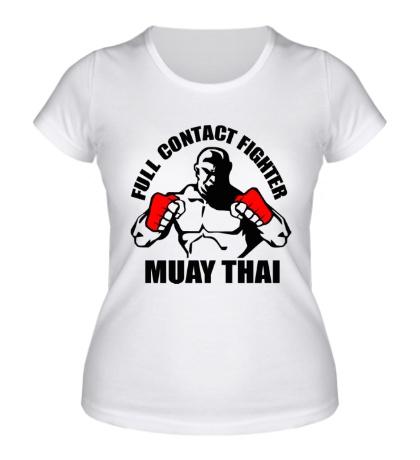 Женская футболка Muay Thai Fighter