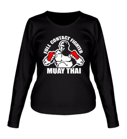 Женский лонгслив Muay Thai Fighter