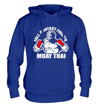 Толстовка с капюшоном Muay Thai Fighter