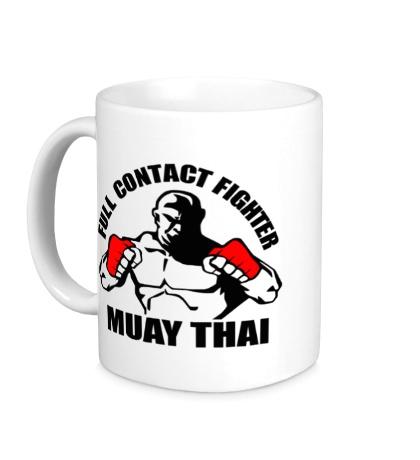 Керамическая кружка Muay Thai Fighter