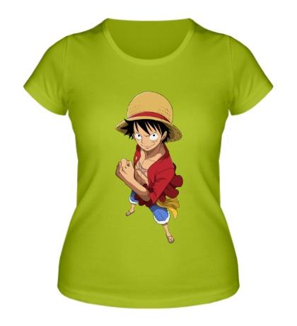 Женская футболка Манки Д. Луффи