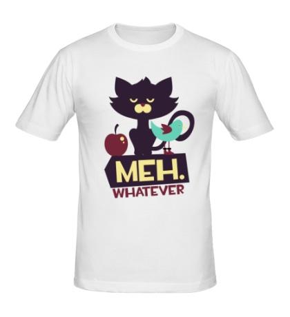 Мужская футболка Meh whatever