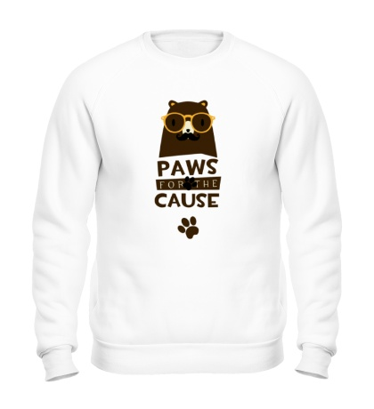 Свитшот Paws for the Cause