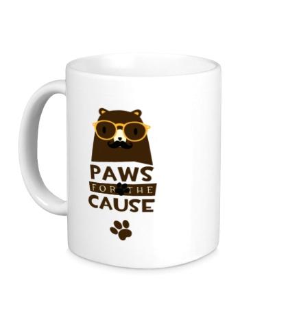 Керамическая кружка Paws for the Cause