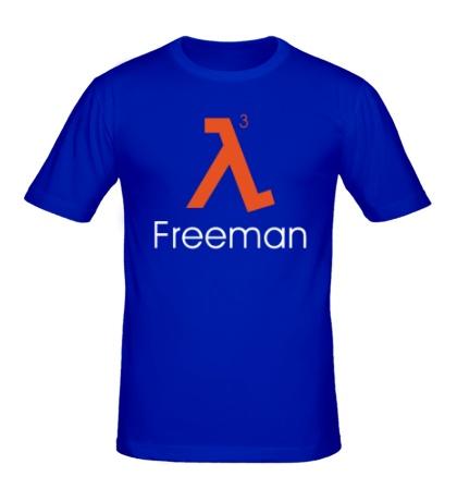 Мужская футболка Half-Life 3: Freeman