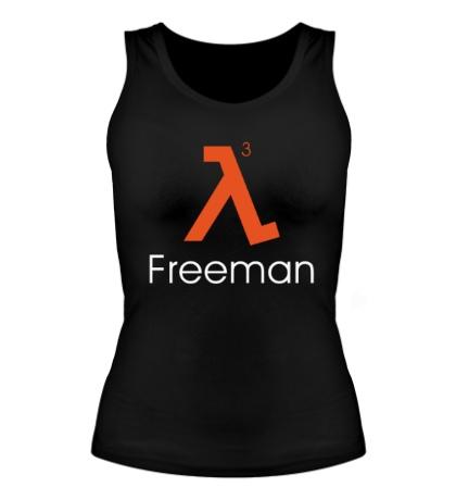 Женская майка Half-Life 3: Freeman