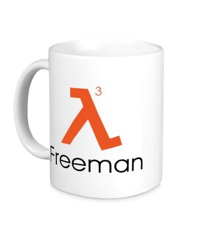 Керамическая кружка Half-Life 3: Freeman