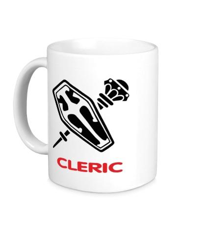 Керамическая кружка Human Mage: Cleric