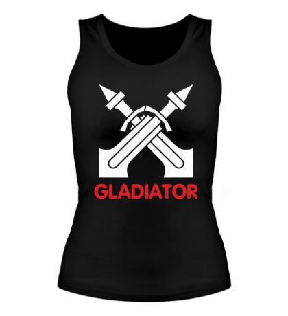 Женская майка Human Fighter: Gladiator