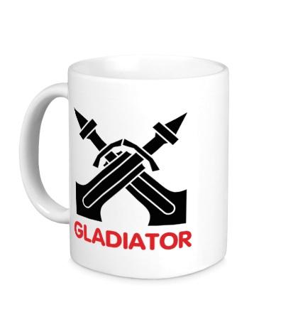Керамическая кружка Human Fighter: Gladiator