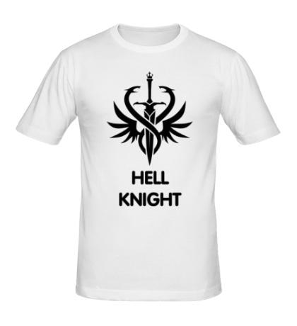 Мужская футболка Human Fighter: Hell Knight
