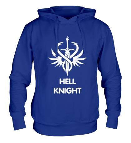 Толстовка с капюшоном Human Fighter: Hell Knight