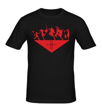 Мужская футболка Linage 2: Heroes