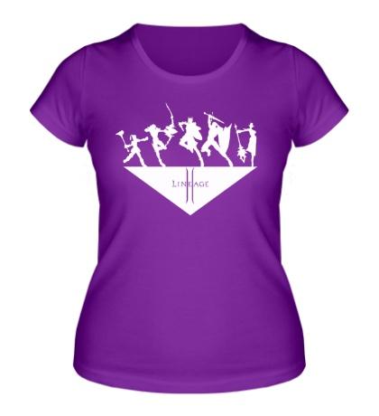 Женская футболка Linage 2: Heroes