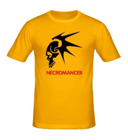Мужская футболка Human Mage: Necromancer