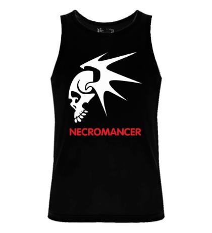Мужская майка Human Mage: Necromancer
