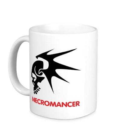 Керамическая кружка Human Mage: Necromancer