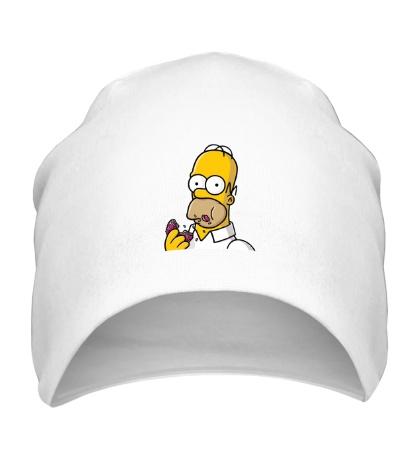 Шапка Гомер с Пончиком