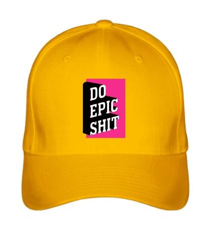 Бейсболка Do Epic Shit 3D