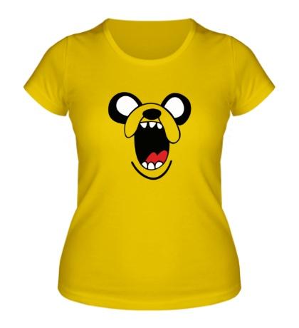 Женская футболка Злой Джейк