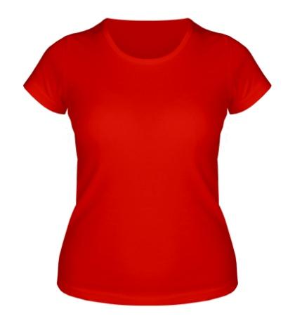 Женская футболка Тату крылья свет