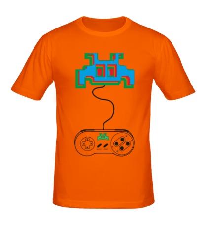 Мужская футболка Nintendo 3D