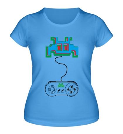 Женская футболка Nintendo 3D