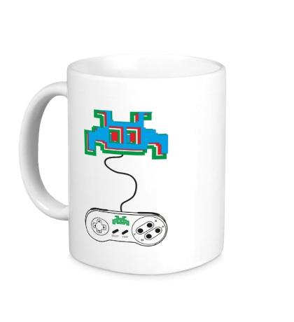 Керамическая кружка Nintendo 3D