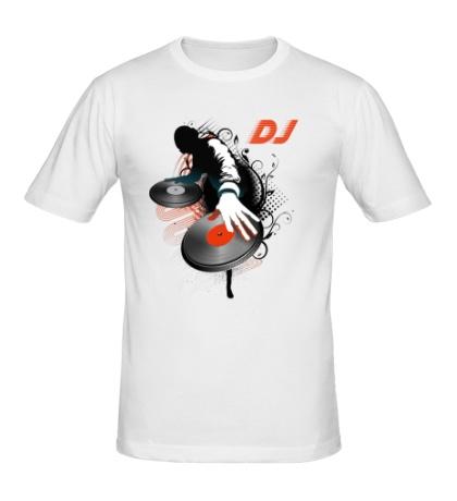 Мужская футболка DJ Black