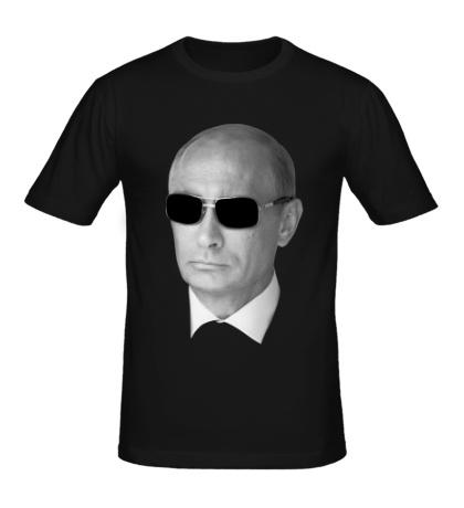 Мужская футболка Путин в очках