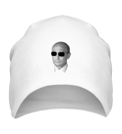 Шапка Путин в очках