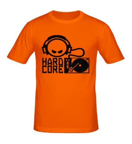 Мужская футболка Hardcore DJ