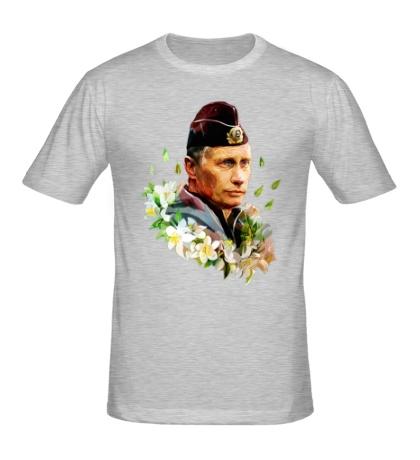 Мужская футболка Путин моряк