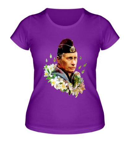 Женская футболка Путин моряк