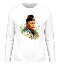 Мужской лонгслив Путин моряк