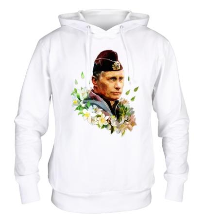 Толстовка с капюшоном Путин моряк