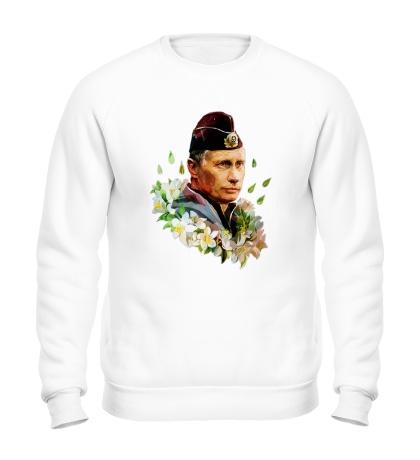 Свитшот Путин моряк