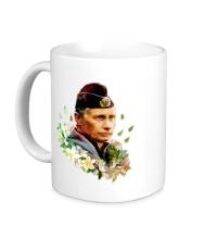 Керамическая кружка Путин моряк