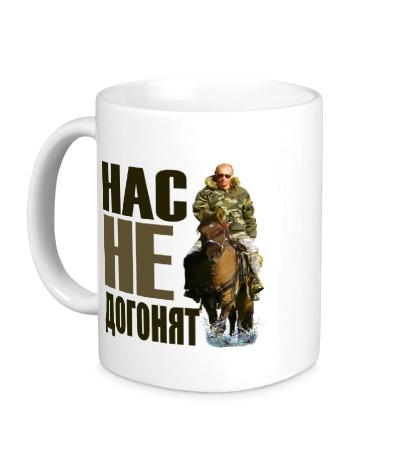 Керамическая кружка Путин на коне