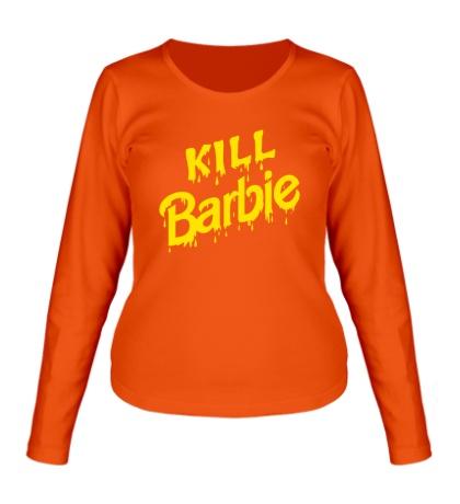 Женский лонгслив Kill Barbie