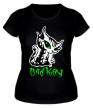 Женская футболка «Bad kitty» - Фото 1