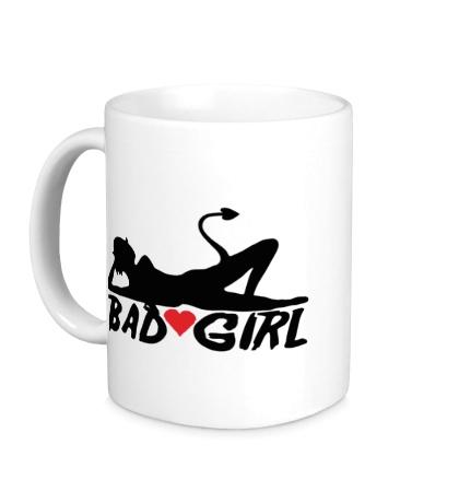 Керамическая кружка Bad girl