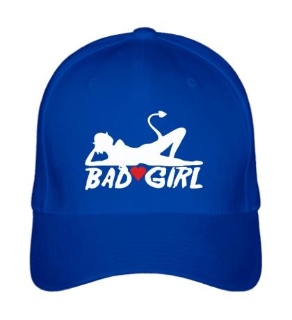 Бейсболка Bad girl