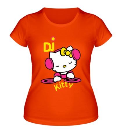 Женская футболка Kitty Dj