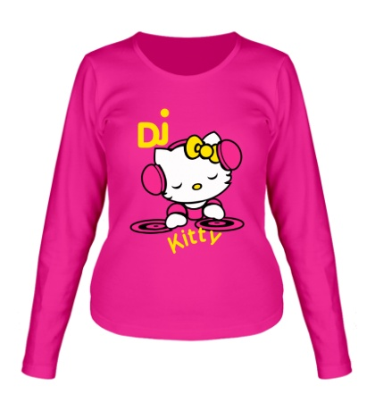 Женский лонгслив Kitty Dj